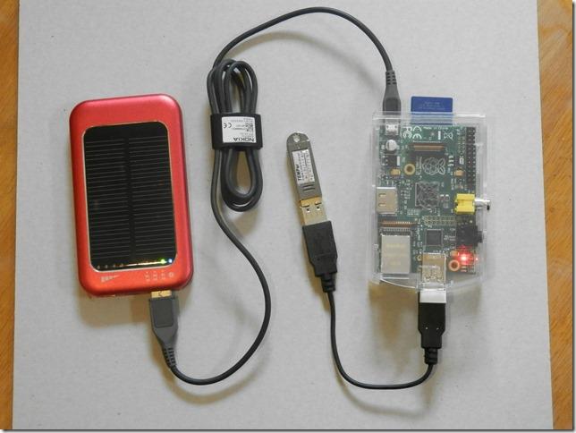 Raspberry Pi wireless 温度計の制作